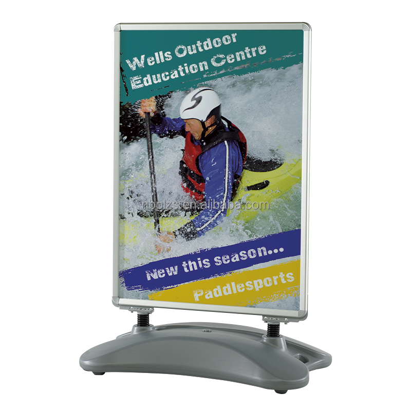 Portable outdoor heavy duty waterbased pavement sign A1 A Frame Sign water base,sidewalk sign frame