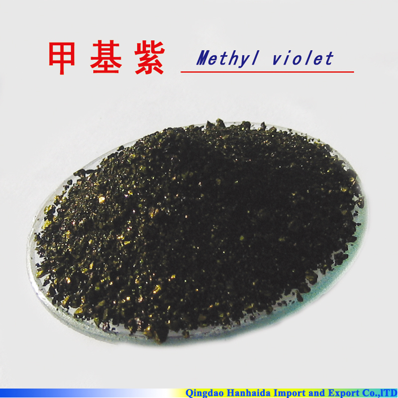 Hot selling high quality Methyl violet 2B, Basic Violet <strong>1</strong>, 8004-87-3 with reasonable price and fast delivery !!