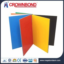 Crownbond Widely Use Aluminum PVDF/PE thin acp sheet
