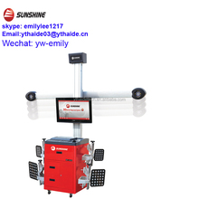 SUNSHINE 3D 4-wheel alignment with CE (SP-G6T)