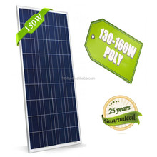 China Factory Offer Cheap 150 Watt solar panels for cell phone power charger and caravan accessories