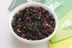 Finch Brand 2016 The Newest Beauty-keeping Blueberry Green Tea , Dried Blueberry Mixed Flavor Tea For Tea Bag