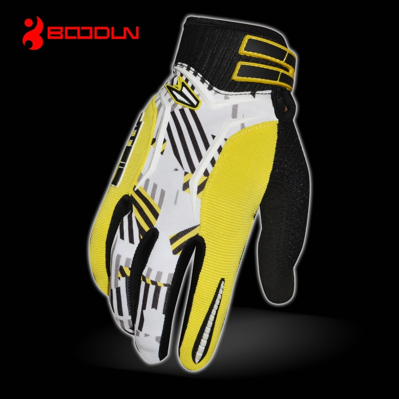 Custom made in china high quality deerskin motorcycle riding gloves UK