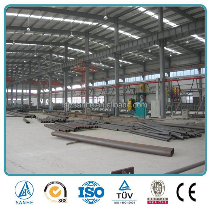 Galvanized Steel Structure for industrial commercial application