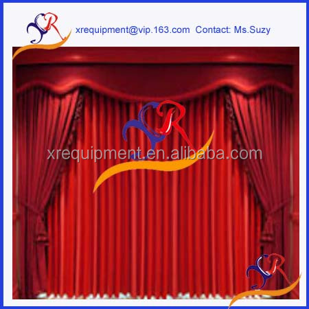 China factory drapery of stage curtain curtain wholesale