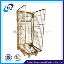 Metal welded rolling security cage