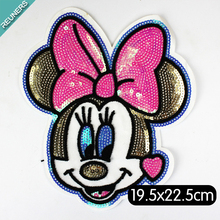 Custom luxury cute Miki clothing patch