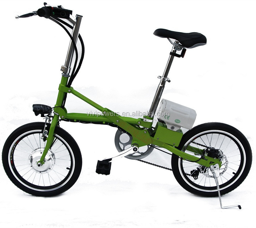 VIVIPOWERS Fast Folding Electric Bicycle And Aluminum eBike Motorbike with Li ion Battery