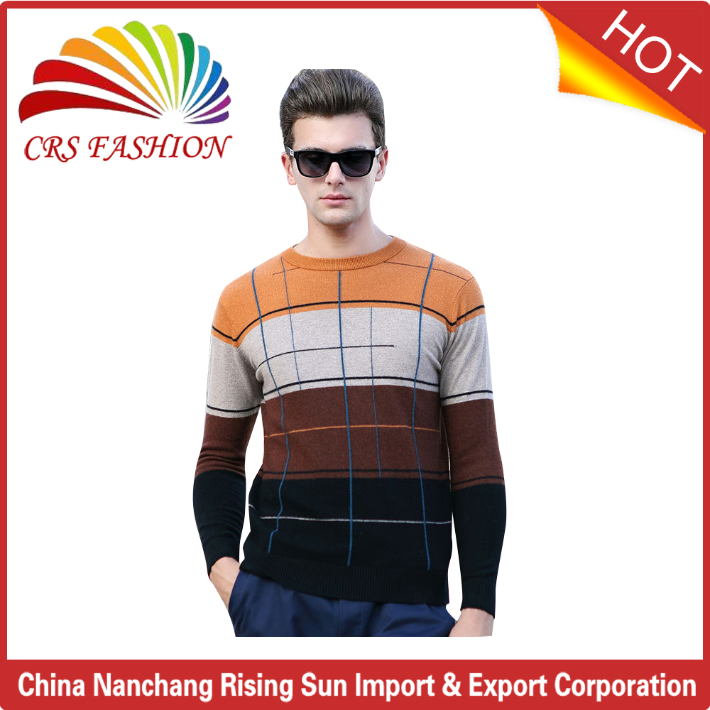 Best sell oem long sleeve casual wool sweater design for boys