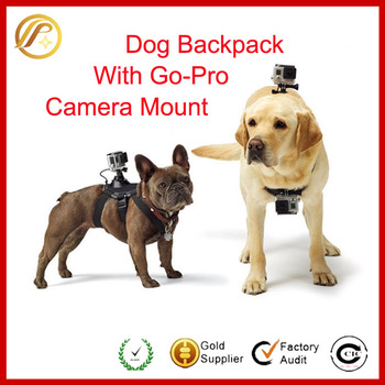 2016 New Products Innovations Dog Strap for GoPro Adjustable Chest Mount Dog Harness Fetch Belt for GoPro Hero 4/3+/3