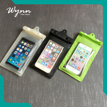 Different models mobile phone pvc waterproof bag waterproof bag with headphone jack