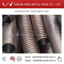 Large diameter stainless steel metallic corrugated hose