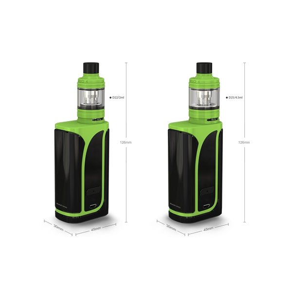 Authentic 200W 4600mAh Eleaf iKuun i200 with MELO4 2ml/4.5ml Atomizer Full Kit