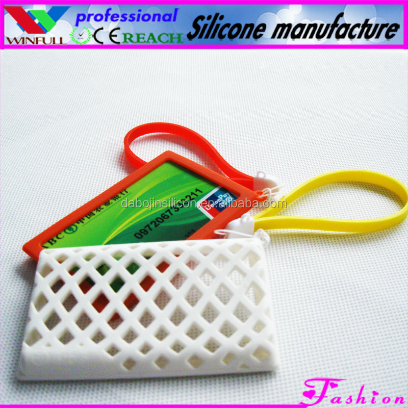 candy silicone card case,business card case women