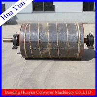 Pass ISO MA TUV Conveyor belt rubberized return pulleys for coal cement industrial