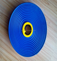 blue pvc layflat water pump irrigarion discharge hose