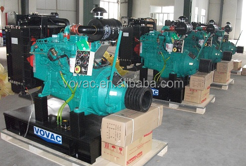 Diesel Engine With Clutch For Stationary Power 20KVA-1800KVA