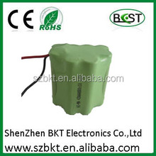 High quality toys battery 12V 800mah Ni-MH battery pack