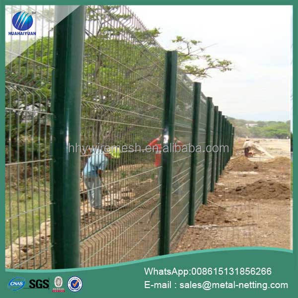 welded wire mesh fence pvc coated garden welded fence high quality wire fencing