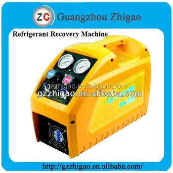portable refrigerant recovery machine