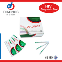 Hotsale!One step HIV 1+2 blood testing/rapid hiv test with certificates