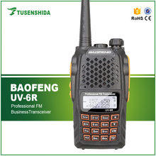 Dual Band fm Transceiver Baofeng BF-UV6R Professional Two Way Radio vhf uhf Walkie Talkie bf uv-6r