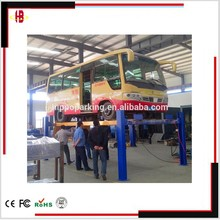 Strong four post auto heavy lift /4 post wheel alignment car service equipment