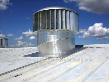 Wind driven ventilation systems