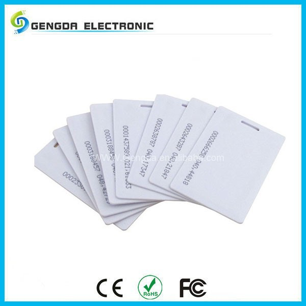 EM4100/ EM4102 rfid contactless smart card for door access