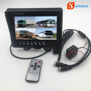 "High quality 7"" tft lcd car stand alone rearview monitor"