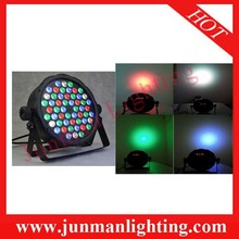 54*3W RGBW Led Par Light Led Par64 DJ Stage Disco Lighting