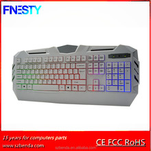 2017 Wholesale Cheapest Blacklight Wired Computer Keyboard