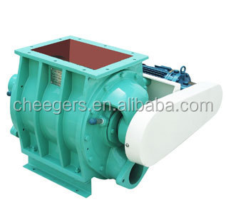 Rotary Valve for flour mill work with roots blower