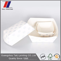 Fashion design disposable paper lunch tray