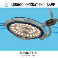 LED580 shadowless operating lamp type surgical instruments used in hospital