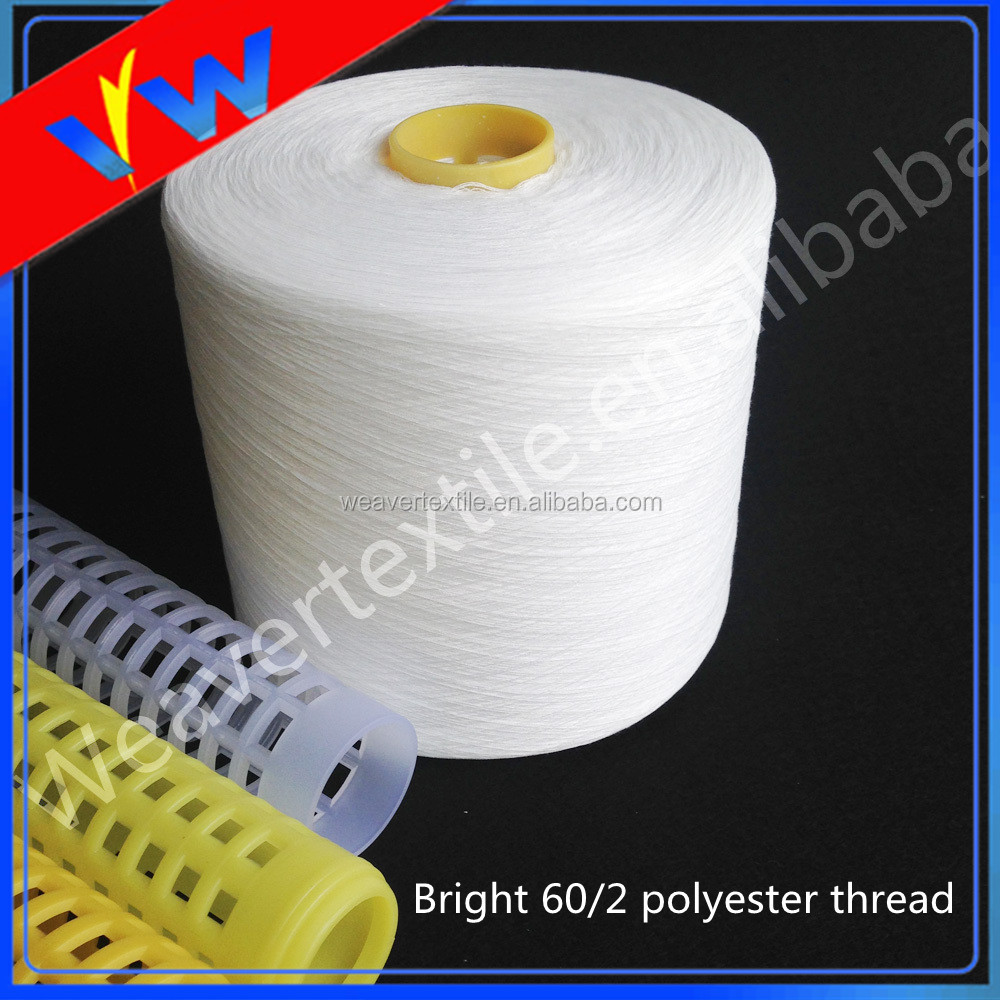100% sewing thread raw material 60 / 2