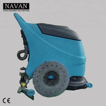 Battery powered all in one hard floor washer dryer for industrial flooring