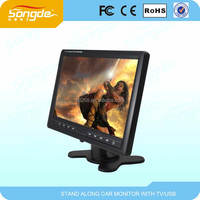 9 inch lcd mini tv with battery optional