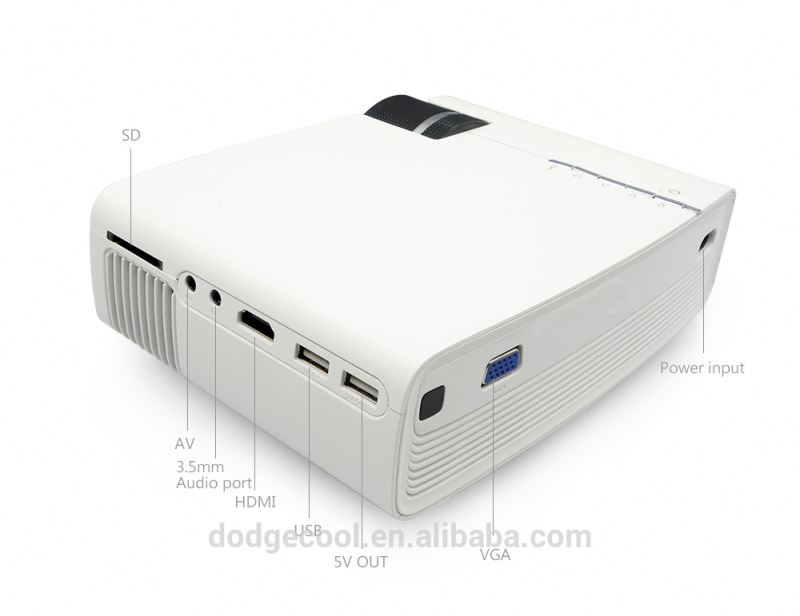 XMING S1 Portable Smart Laser DLP Projector with 900 Ansi Lumens 2G RAM 16G ROM 3D Glasses Auto Keystone and Focusing