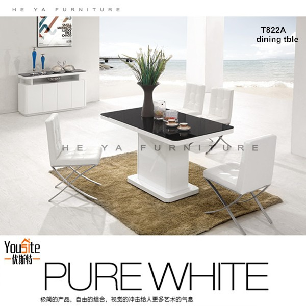 high gloss white dining table set kitchen tables and chairs