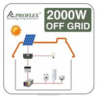 2000w solar off grid system/ 2kw home solar pane kit / home solar power station