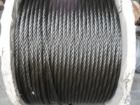 factory hot sales steel wire rope with asphalt coted