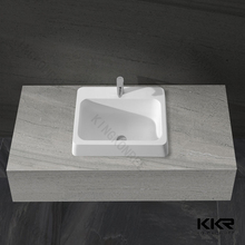 bathroom countertop bsin mand made stone hand wash basin