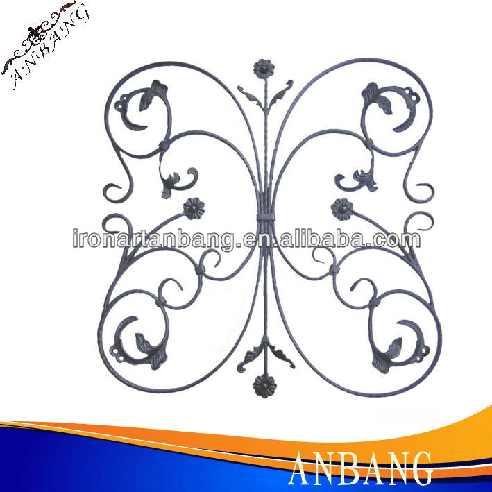 wrought iron steel group decoration6261