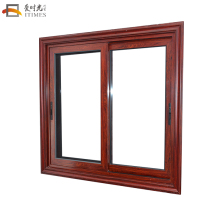 Thermal break aluminum reflective glass sliding window sliding windows for balcony