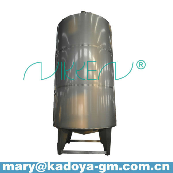 Different capacity stainless steel fuel oil storage tanks
