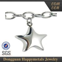 Nice Quality Sgs Stainless Steel Plastic Star Charm