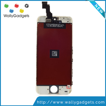 Factory directly supply factory price AAA Quality for iphone 5c lcd digitizer