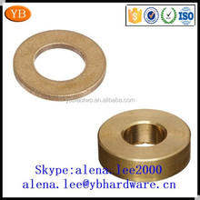 Factory customized brass shim fender tap washers,lock flat copper washer kit ISO9001:2008
