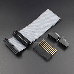 GPIO Flat Ribbon Cable 2x13 Pin For Raspberry Pi With 2x13 Stackable Header And 2x13 Box Header
